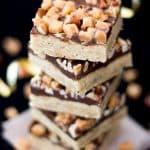 Pecan Fudge Crunch Bars | The Best | Cookie | Cookies | Chocolate