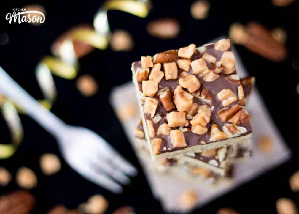 Pecan Fudge Crunch Bars   The Best   Cookie   Cookies   Chocolate