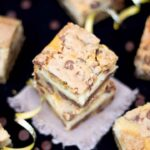 Choc Chip Cookie Cheesecake Bars | Chocolate Chip | Vanilla | Traybake
