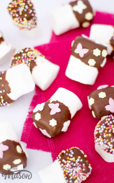 Chocolate Dipped Marshmallows | Easter | No Bake | Homemade Gift