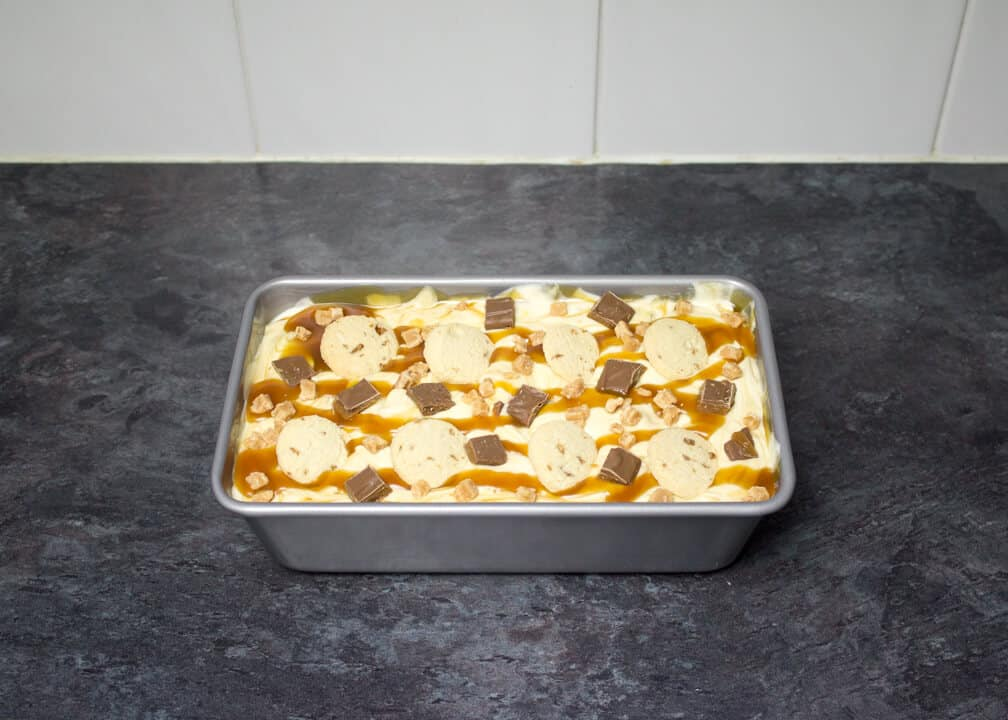 Salted Caramel Ice Cream | No Churn | Easy Ice Cream | Dessert