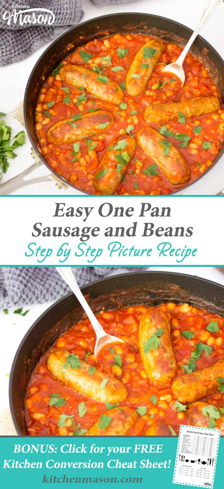 Easy One Pot Recipes | One Pan Recipes | One Pan Sausage and Beans