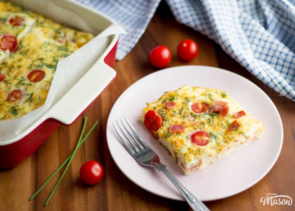 Easy Frittata Recipes | Bacon Cheese Frittata Recipe | Bacon Recipes