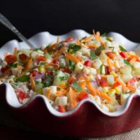 Easy Summer Rainbow Pasta Salad