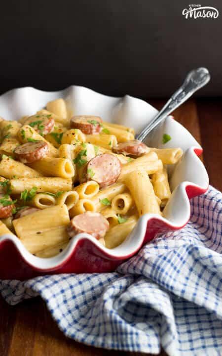 Easy One Pot Recipes | Easy Pasta Recipes | Cajun Sausage Pasta