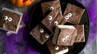 CRAZY Easy Rice Krispie Halloween Treats