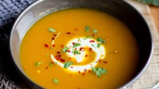 Easy Honey Carrot Soup Recipe