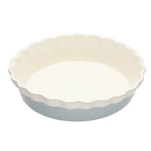 KitchenCraft Classic Collection 26cm Round Ceramic Pie Dish