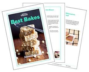 Kitchen Mason FREE Best Bakes Ebook
