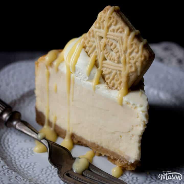 Best Ever Custard Cream Baked Cheesecake Recipe