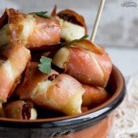 Party Snacks: Irresistible Halloumi & Prosciutto Bites