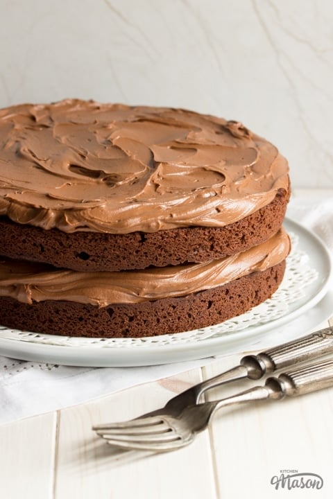 SUPER Easy Chocolate Cake Recipe | Video + Step by Step Pics