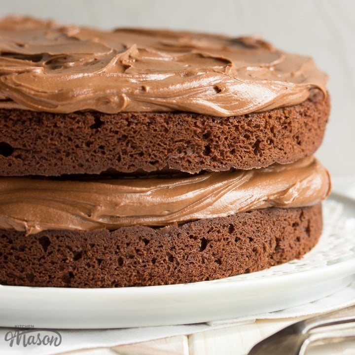SUPER Easy Chocolate Cake Recipe