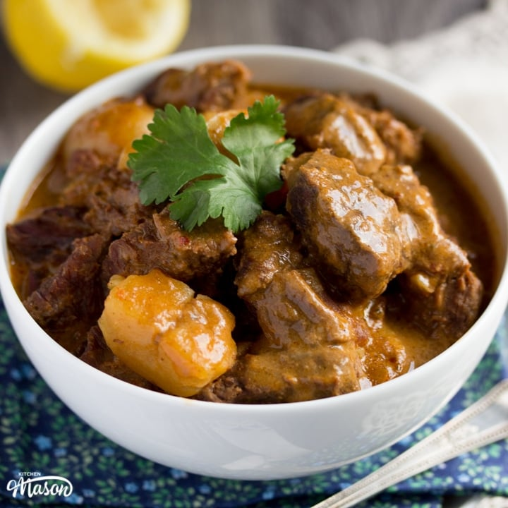 Easy Slow Cooker Beef Massaman Curry Recipe