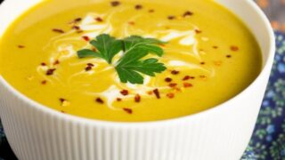 Easy Curried Coconut Lentil Soup
