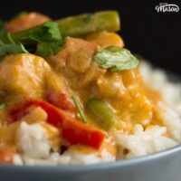 Easy Vegetable Thai Red Curry