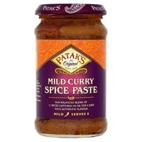 Patak's Mild Curry Spice Paste, 283g