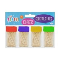 600 x Wooden Cocktail Sticks / Toothpicks / Tooth Picks