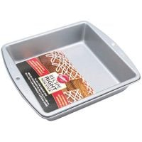 Wilton Square Cake Tin, Recipe Right, Non Stick, 20.3cm (8in)