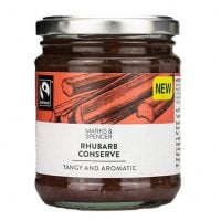 Marks & Spencer Rhubarb Conserve 340g - Tangy & Aromatic - Made in the UK