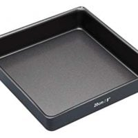 MasterClass Non-Stick Square Sandwich Tin with Loose Base, 20cm