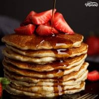 The Easiest Fluffy Vegan Pancake Recipe