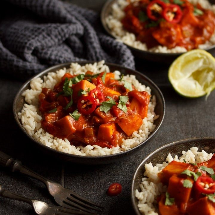 How to Make a CRAZY Tasty Sweet Potato Curry