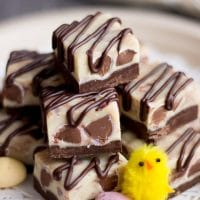 Crazy Easy Mini Egg Chocolate Fudge Recipe