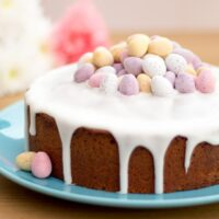 Simple Lemon Drizzle Easter Cake