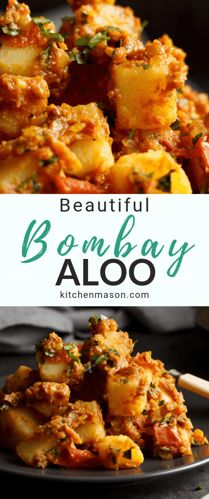 Bombay aloo on a plate