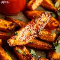 Easy Homemade Sweet Potato Wedges Recipe