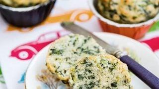 Spanakopita muffins spinach feta savoury muffins