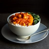 Sweet Potato Chickpea Curry Recipe