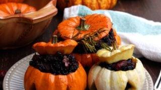 Halloween Stuffed Pumpkins