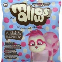 Vegan Mini Pink and White Vanilla Mallows 75 g