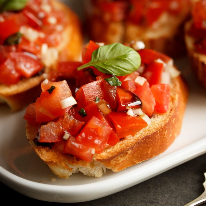How to Make Bruschetta - the Easy, Make Ahead Way!