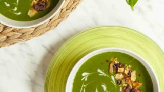 Cream of Spinach Soup Vegan