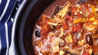 Slow Cooked Chicken Italian