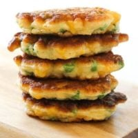 Pea & Sweet Corn Fritters Recipe - Cook it Real Good