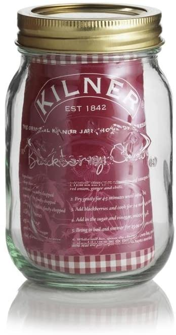 500ml Screw Top Kilner Jar (2 Part Lid) - Set of 6