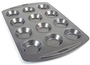 12 Hole Shallow Bun & Small Yorkshire Pudding Tin