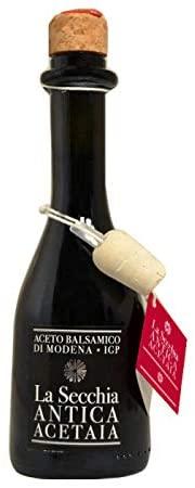 BALSAMIC Vinegar from Modena Aged in 4 Barrels by La Secchia 250ml